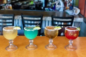 Four Custom Margaritas