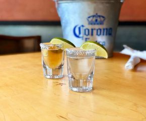 Chilled Tequila Shots